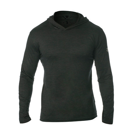 Method Dry Fit Tech Hoodie // Black (S)