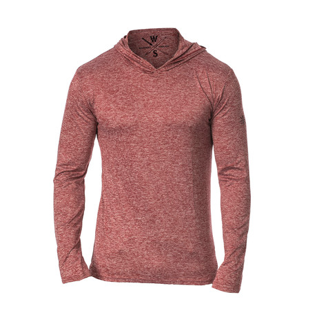 Method Dry Fit Tech Hoodie // Red (S)