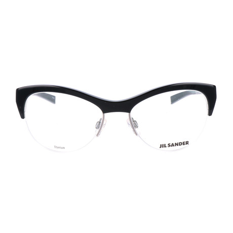 Women's J2010 Optical Frames // Black + Gunmetal