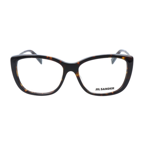 Women's J4002 Optical Frames // Havana + Light Gunmetal