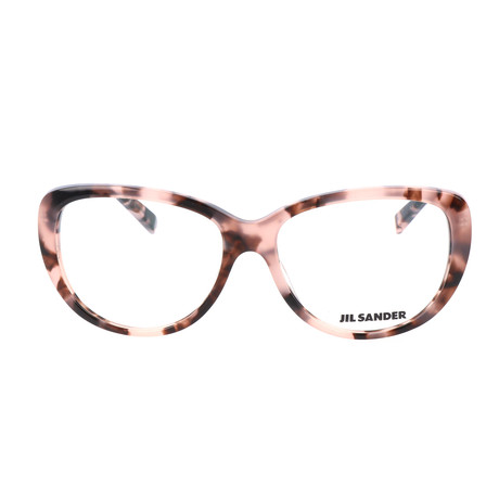 Women's J4003 Optical Frames // Rose Havana + Light Gunmetal