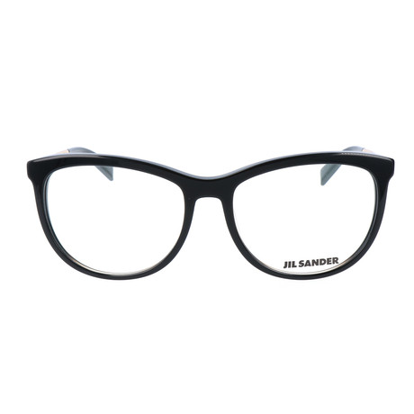 Women's J4012 Optical Frames // Black + Rose Gold