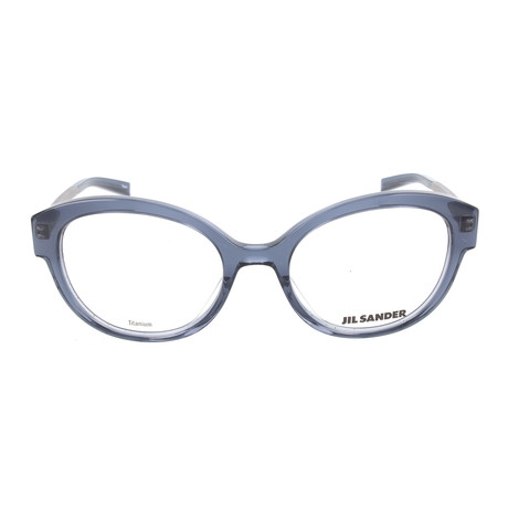 Unisex J4010 Optical Frames // Blue + Gunmetal