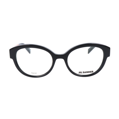 Women's J4010 Optical Frames // Black + Gold