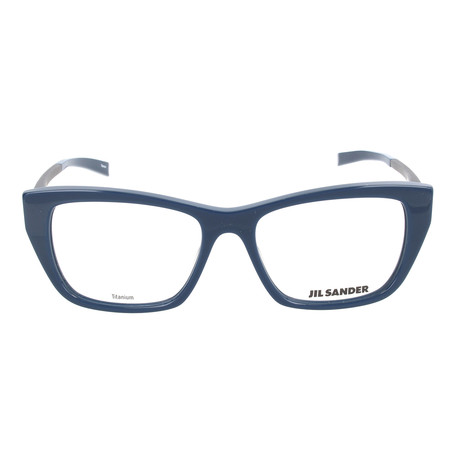 Women's J4005 Optical Frames // Dark Blue + Dark Gunmetal