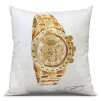 "My Man's Watch Throw Pillow (16"" x 16"")"