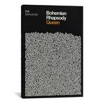 "Bohemian Rhapsody // Queen Lyrics Print // Reign & Hail (26""W x 40""H x 1.5""D)"