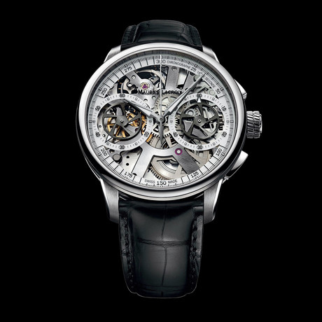 Maurice Lacroix Masterpiece Squelette Chronograph Automatic // MP7128-SS001-100 // Store Display