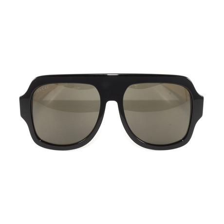 Gucci Women's Sunglasses // GG0255S // Black + Ivory