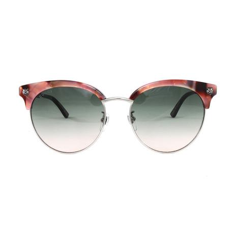 Gucci Women's Sunglasses // GG0222SK // Havana Silver