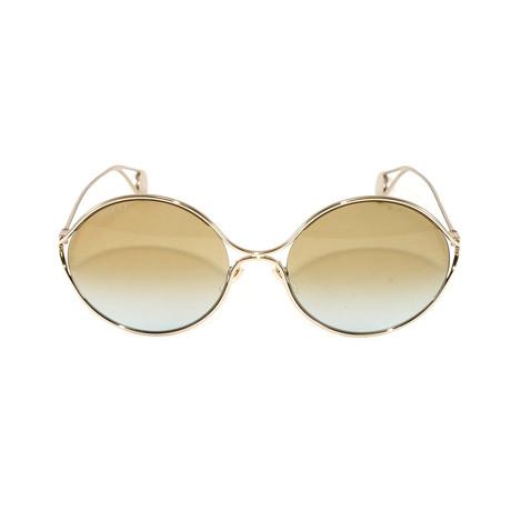 Gucci Women's Sunglasses // GG0253S // Gold