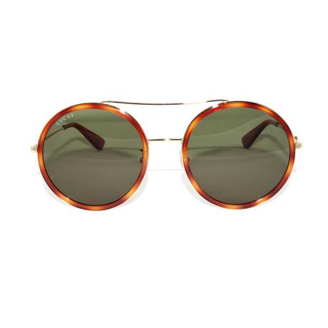 Gucci Women's Sunglasses // GG0061S // Gold