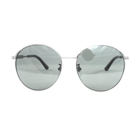 Gucci Women's Sunglasses // GG0206SK // Ruthenium