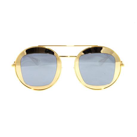 Gucci Women's Sunglasses // GG0105S // Gold
