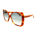 Gucci Women's Sunglasses // GG0471S // Havana