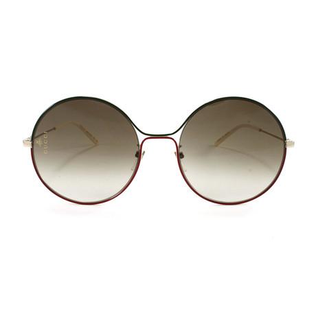 Gucci Women's Sunglasses // GG0395S // Gold