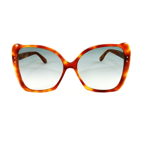 Gucci Women's Sunglasses // GG0471S // Havana