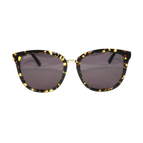Gucci Women's Sunglasses // GG0073S // Havana