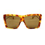 Gucci Women's Sunglasses // GG0434S // Havana + Gold