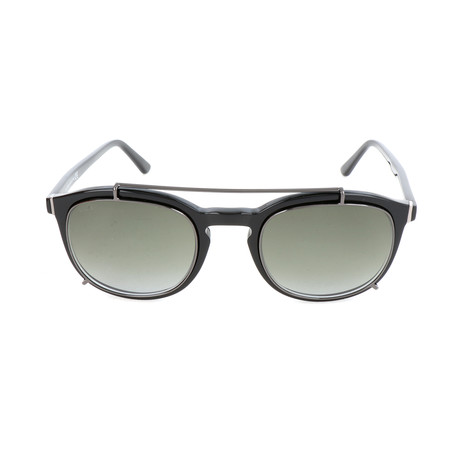 Men's TO0181 Sunglasses // Shiny Black