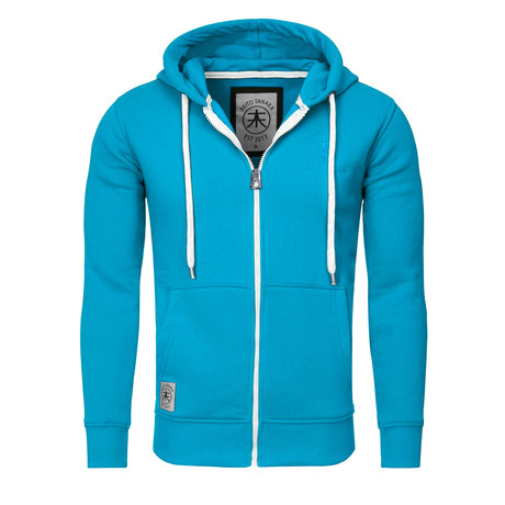 Hoodie // Turquoise (S)