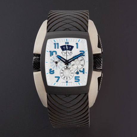 Cyrus Tonneau Chronograph Automatic // 598.003.B
