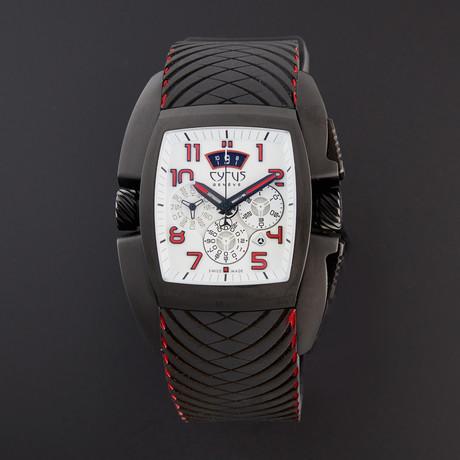 Cyrus Tonneau Chronograph Automatic // 598.004.B