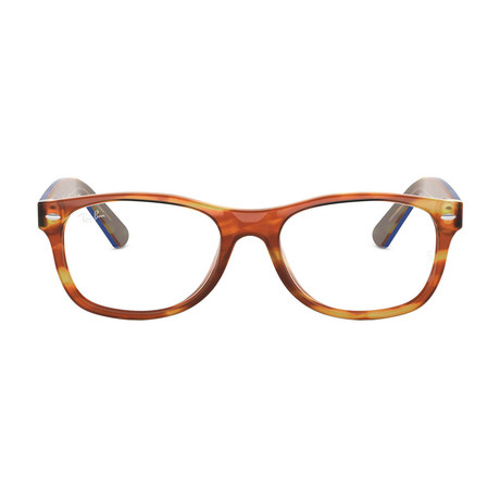 Ray-Ban // New Wayfarer Acetate Optical Frame // Tortoise Blue