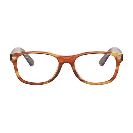 Men's New Wayfarer Acetate Optical Frame // Tortoise Blue