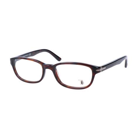 Men's TO5092 Optical Frames // Dark Havana