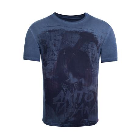 Tattoo T-Shirt // Navy (S)