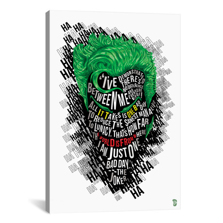 """Joker (18""""W x 26""""H x 0.75""""D)"""
