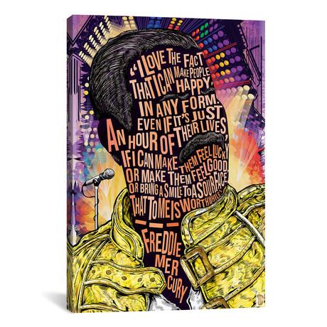 """Freddie Mercury (18""""W x 26""""H x 0.75""""D)"""