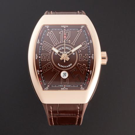 Franck Muller Vanguard Automatic // 45SCGLDBRNGLDBR // New