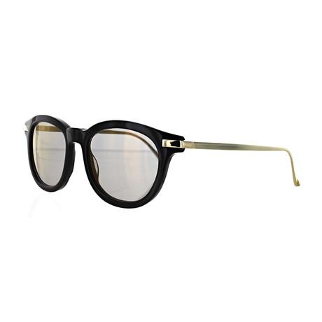 Vilebrequin // Unisex 1822149 Round Sunglasses // Gold