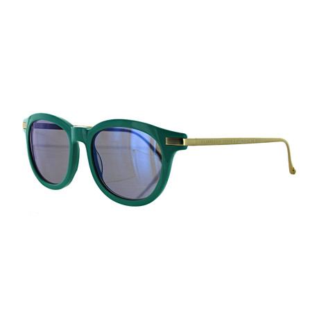 Vilebrequin // Unisex 1922102 Round Sunglasses // Green