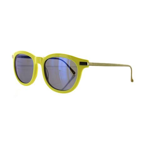 Vilebrequin // Unisex 1922100 Round Sunglasses // Lime