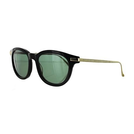 Vilebrequin // Unisex 1822150 Round Sunglasses // Green