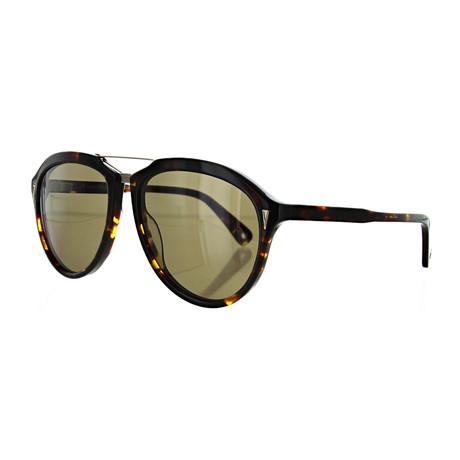 Vilebrequin // Unisex 1722119 Aviator Sunglasses // Brown
