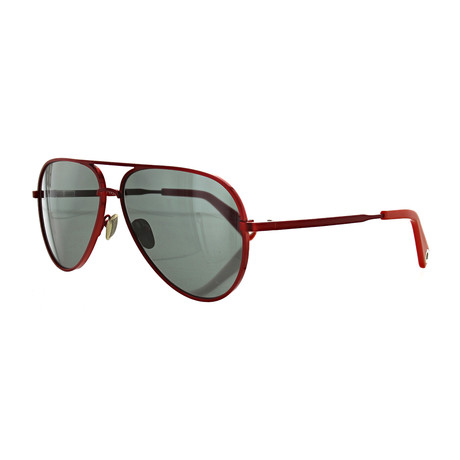 Vilebrequin // Unisex 1722123 Aviator Sunglasses // Smoke