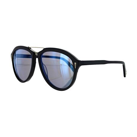 Vilebrequin // Unisex 1722120 Aviator Sunglasses // Blue