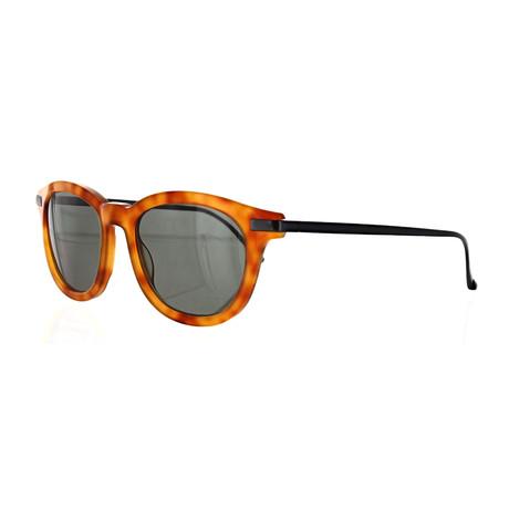Vilebrequin // Unisex 1822151 Round Sunglasses // Light Havana
