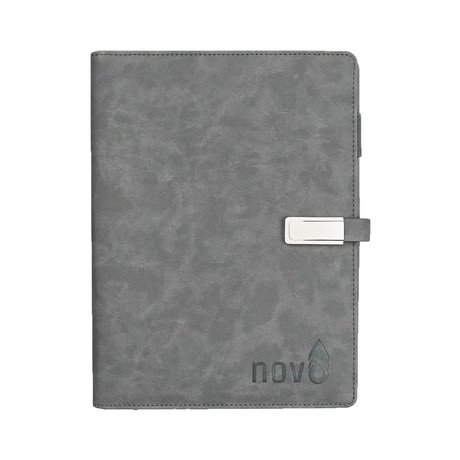 Wireless Charging Notebook // Gray