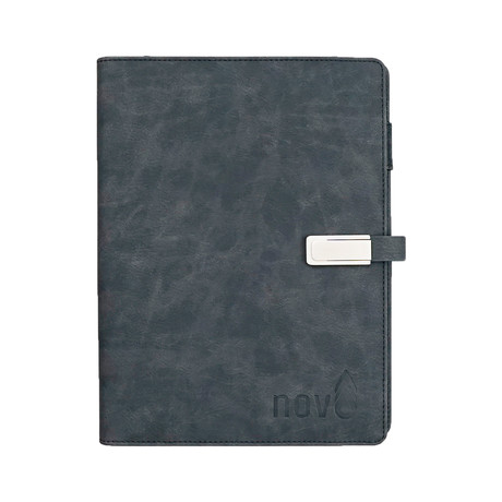 Wireless Charging Notebook // Navy