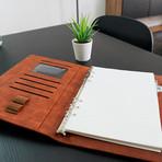 Wireless Charging Notebook // Walnut