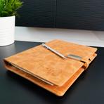 Wireless Charging Notebook // Tan