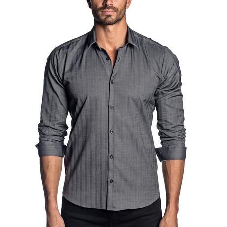 Long Sleeve Shirt // Dark Gray (S)