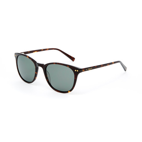 Bryant Polarized Sunglasses // Tortoise