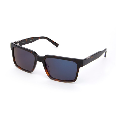Men's Aditya Rectangle Polarized Sunglasses // Tortoise
