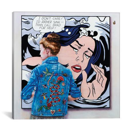 """Lichtenstein Art Lover // Liva Pakalne Fanelli (18""""W x 18""""H x 0.75""""D)"""